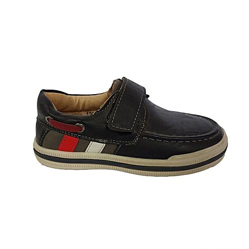 50f101448f288 Sans Marque Chaussures Garçon Avec Scratch Cuir - Noir - Prix pas ...