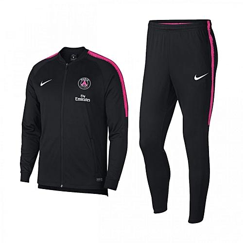 Nike Survêtement Homme - Psg M Nk Dry Sqd Trk Suit K - Noir - Prix ... bc20270d5d8