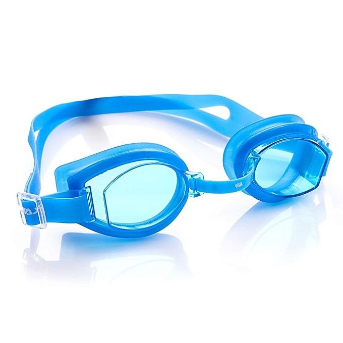 Lunette de natation 100 u v bleu