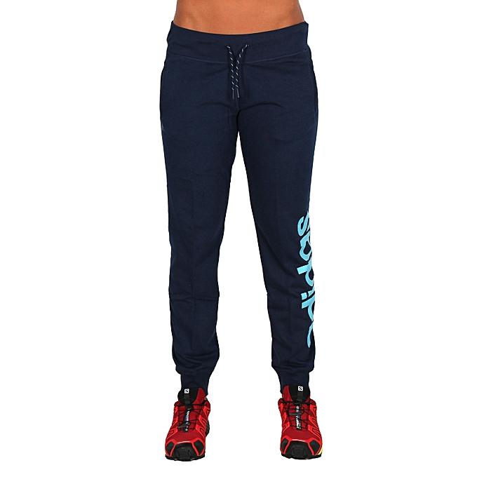 Adidas Essentiels Pas Bleu Prix Jogging Femme Linear Pantalon rI68wxrqSB