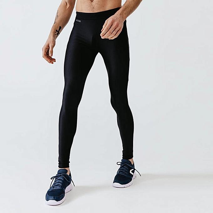 Decathlon Collant Running Homme Run - Noir - Prix pas cher  0c7bfdf793d