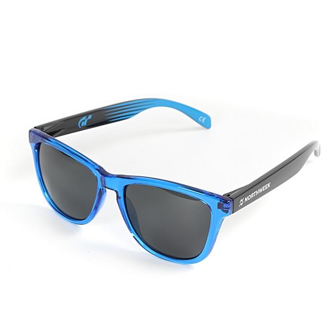 895ebf11ed714 NORTHWEEK Lunettes De Soleil Unisexe - NS0601004 - Noir   Bleu ...