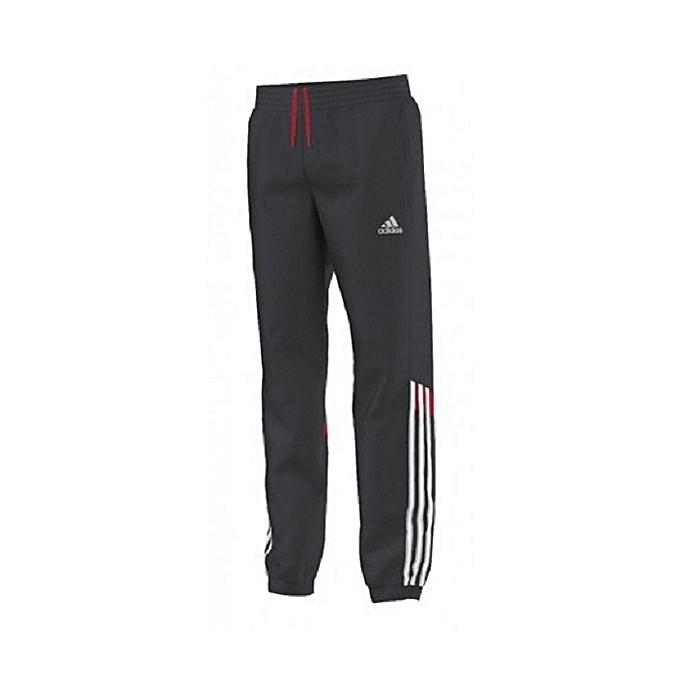 e0cc6811de451 Adidas Pantalon Survêtement Homme - AA9119 - Gris Foncé - Prix pas ...