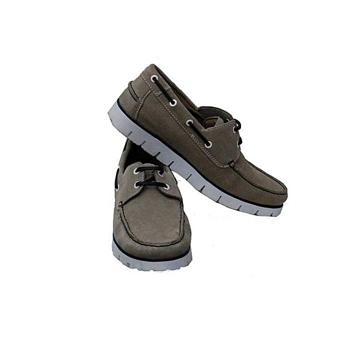 En Marque Mocassins Cuir Chaussures Sans Hommes Grisblanc xRqzOB