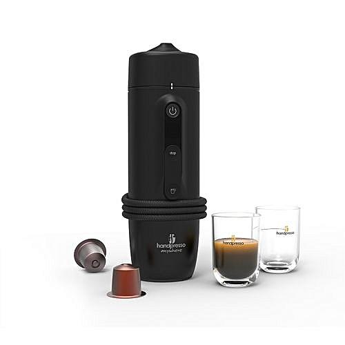 handpresso machine caf pour voiture noir prix pas. Black Bedroom Furniture Sets. Home Design Ideas