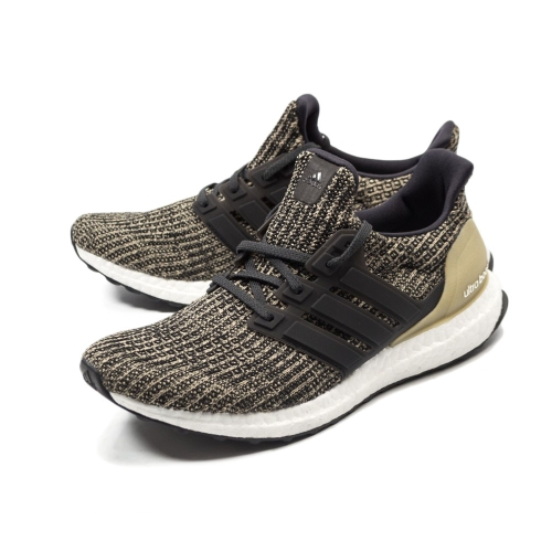 Basket Homme - Ultraboost Cblack/Cblack/Rawgol - Marron. Adidas