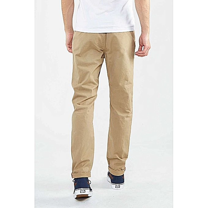 44936f90e87f9 ... Pack - 3 Pantalons Chino Homme - Luxe Confort Org - Marron  Tabac Marron  ...