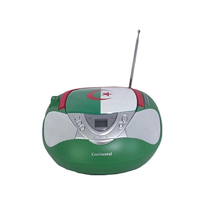 continental lecteur cd mp3 usb radio drapeau algerie jcb u613alg prix pas cher. Black Bedroom Furniture Sets. Home Design Ideas