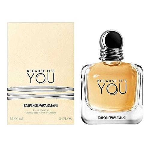 Emporio Armani Eau De Parfums Femme You 100 Ml Prix Pas Cher