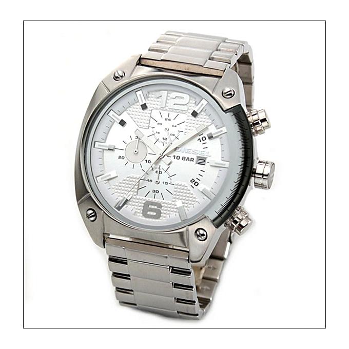 En Dz4203 Inoxydable Bracelet Gris Acier Montre Homme hrQtdosCxB