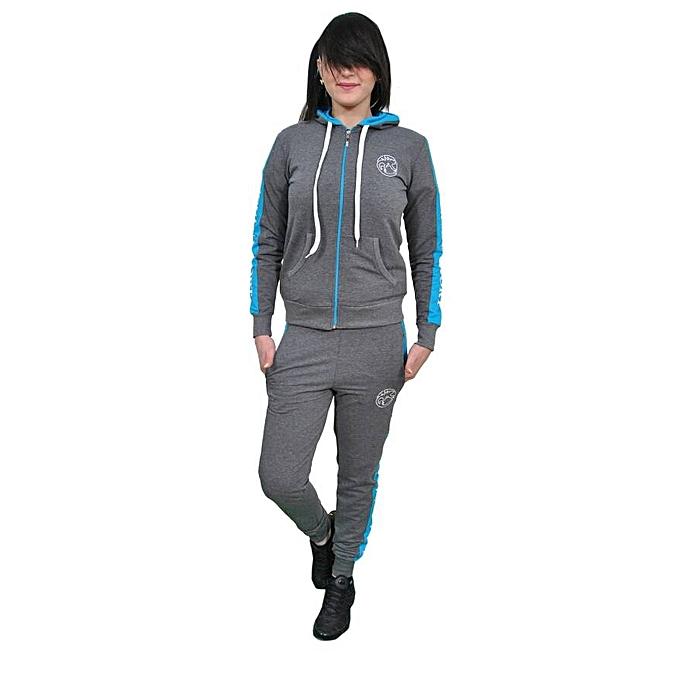 Sans Marque Jogging Femme - Gris Foncé - Prix pas cher   Jumia DZ 8b4d9c459c29