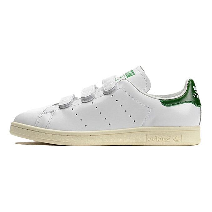 2016 Baskets Adidas Femme Stan Smith Cf Velcro Grise Outlet