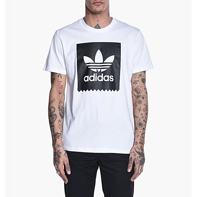2018 Chaude T Shirt Adidas Homme Col rond de coton Modes_595