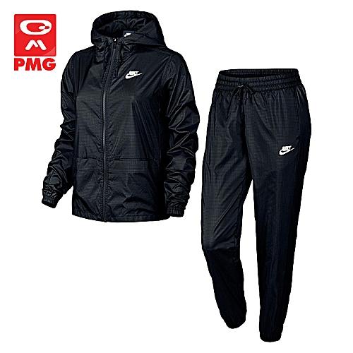 08058d95873 Nike Survêtement Femme - W Nsw Trk Suit Wvn - Noir - Prix pas cher ...