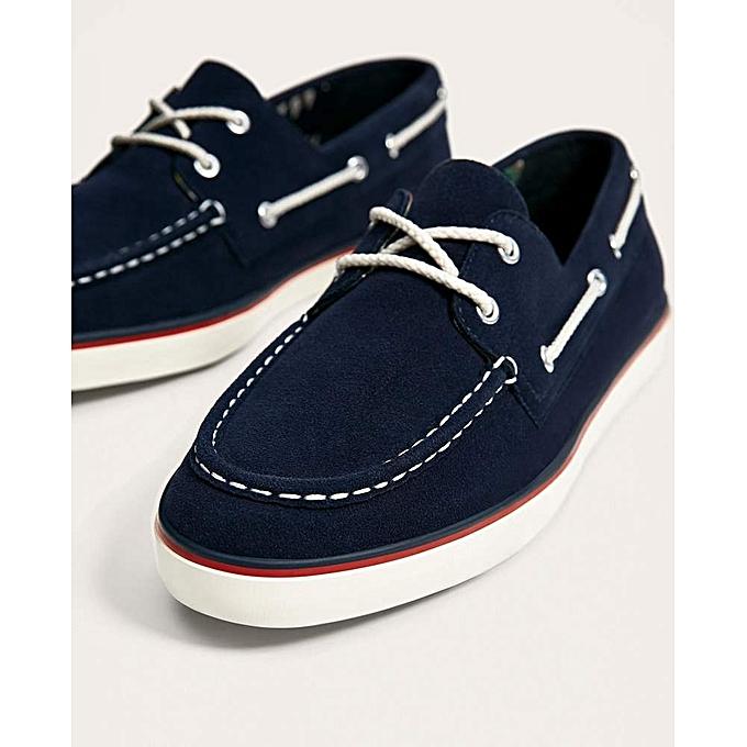 f2f833b5102c5d Chaussures Marine Bateau Pas Bleu Prix Dz Zara Homme Jumia Cher 4waTdqa