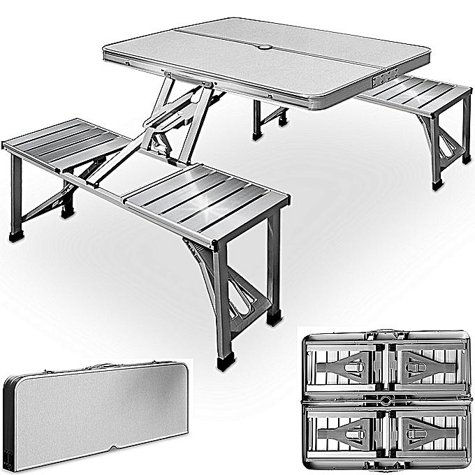 Table de pique nique portable 4 si ges emplacement - Table pique nique enfants ...