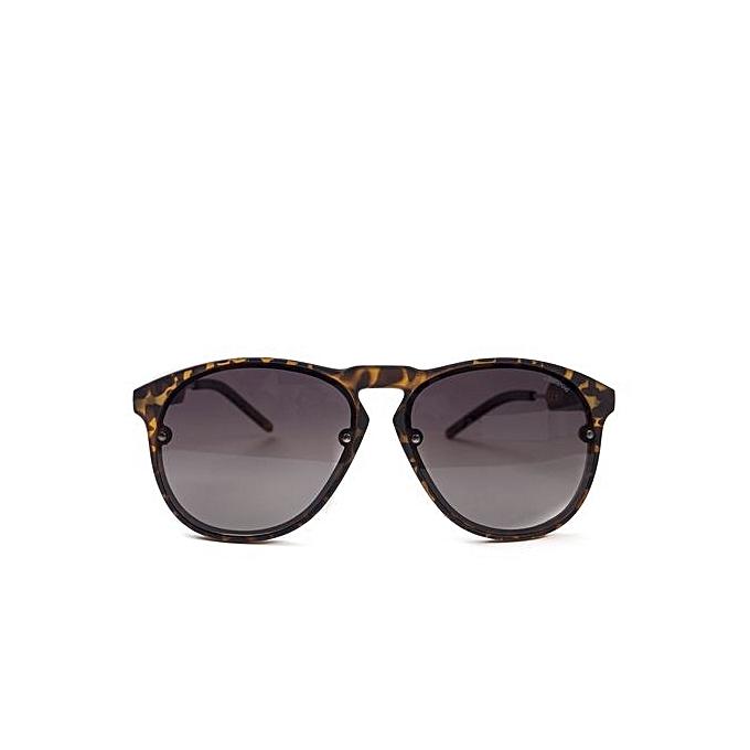DZW Lunettes de soleil Hommes Polarized lunettes de mode Lunettes de sport , brown