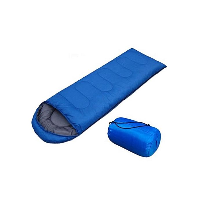 sans marque sac de couchage de camping en plein air bleu au alg rie prix pas cher jumia. Black Bedroom Furniture Sets. Home Design Ideas