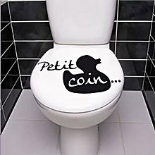 Autocollant Décoration WC Petit Coin