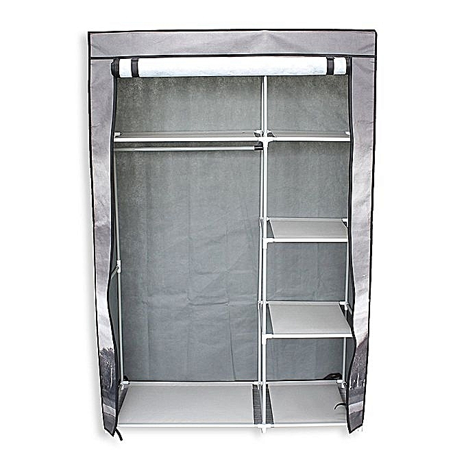 sans marque armoire en toile portable sc ne de big ben prix pas cher jumia dz. Black Bedroom Furniture Sets. Home Design Ideas