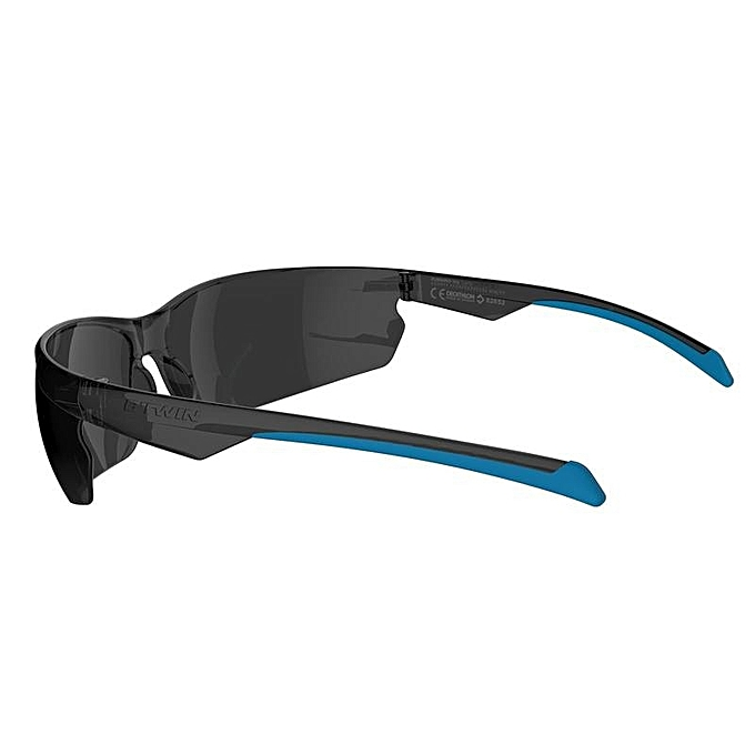 800a3f86f910f2 Decathlon Lunettes de VTT Adulte - Rockrider - Gris Bleu - Prix pas ...