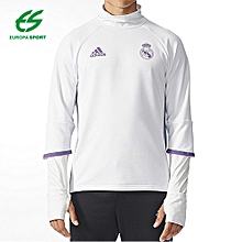 Sweat Sport Homme - Real Madrid - Real TRG Top - Blanc 9018be418c0