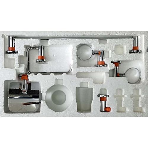 accessoires salle de bain blanc jumia alg rie. Black Bedroom Furniture Sets. Home Design Ideas