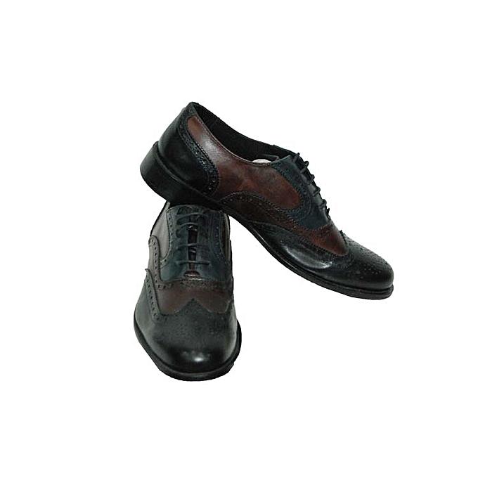 chaussure classique homme cuir marron vert jumia alg rie. Black Bedroom Furniture Sets. Home Design Ideas