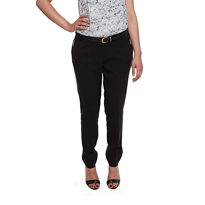84063c7c90393 Sans Marque Pantalon Femme - Classique - Noir - Prix pas cher | Jumia DZ