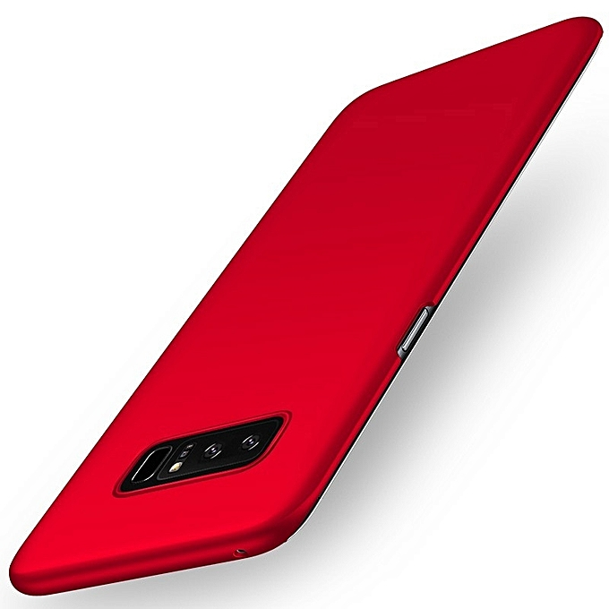 Couverture Ultra Mince Pour Galaxy Note 8 - Rouge