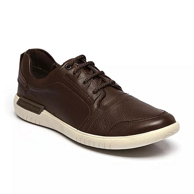 democrata chaussures de ville homme marron prix pas. Black Bedroom Furniture Sets. Home Design Ideas
