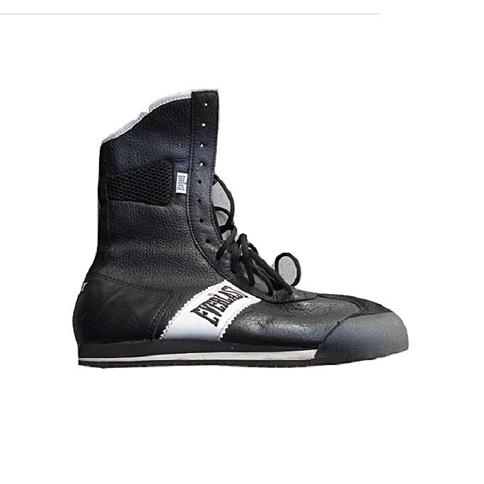 Noir Cuir Chaussure en Bronx Boxe c6cqIBv