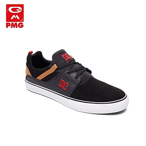 f98c8f12a2f7c8 DC Shoes Baskets Homme - Heathrow Vulc M Shoe Bc1 - Noir/Rouge ...