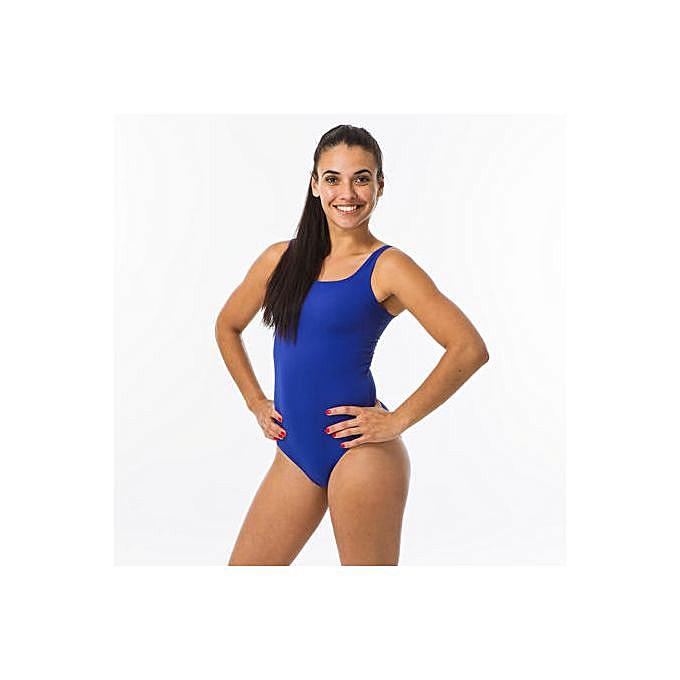 Decathlon Maillot De Bain Femme Une Piece Bleu Prix Pas Cher