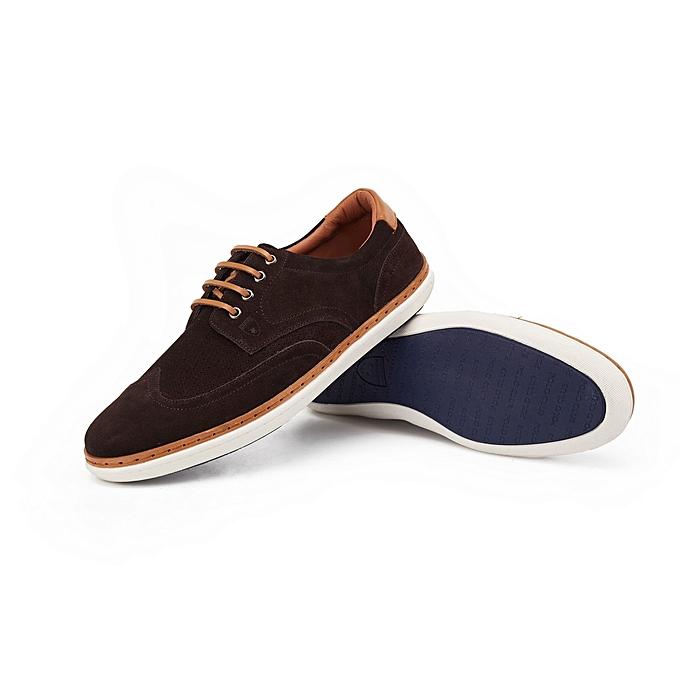a4e9c96319cb Chaussures Homme - Marron Foncé Chaussures Homme - Marron Foncé ...