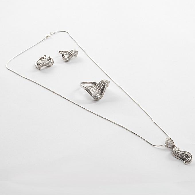 revendeur ebab8 85c51 Parure 4 Pièces - Argent Sterling 925 - Silver