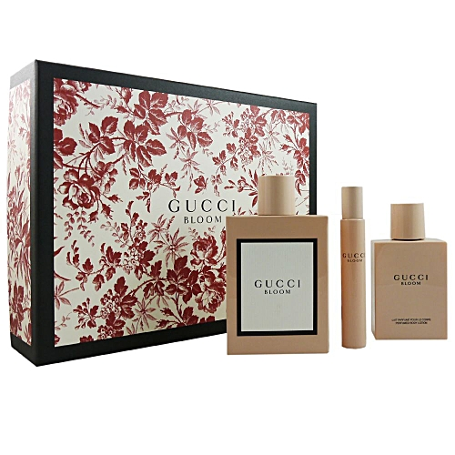 GUCCI Bloom Coffret Eau De Parfum 100 Ml   7,4 Ml + Body Lotion 100 ... d4b90937cd2c