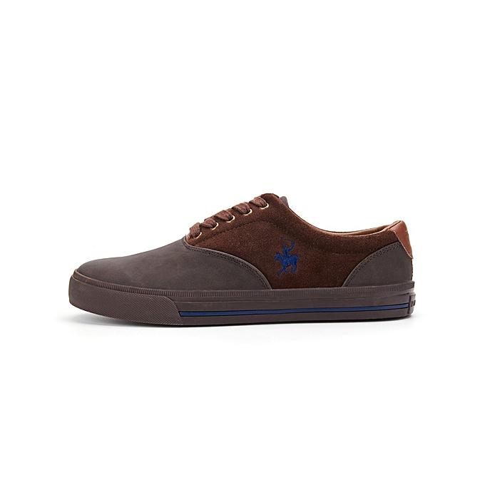 12d5d99e81d927 Polo Club Chaussures de Ville Homme - Coffé & Bleu - Prix pas cher ...