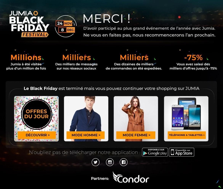 Friday AlgérieDes 2018 Offres Vous Attendent Exceptionnelles Black TclF3J1K