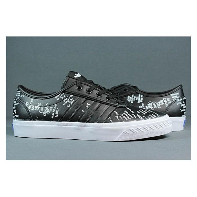 sports shoes 7e943 cf3b4 ... Baskets Homme - Cuir - Noir ...
