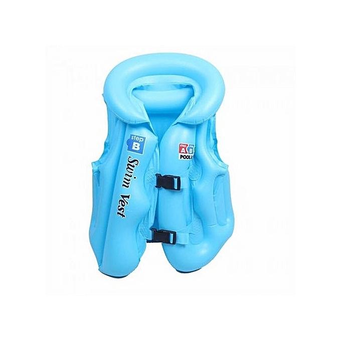 sans marque gilet de sauvetage pour enfants bleu prix pas cher jumia dz. Black Bedroom Furniture Sets. Home Design Ideas