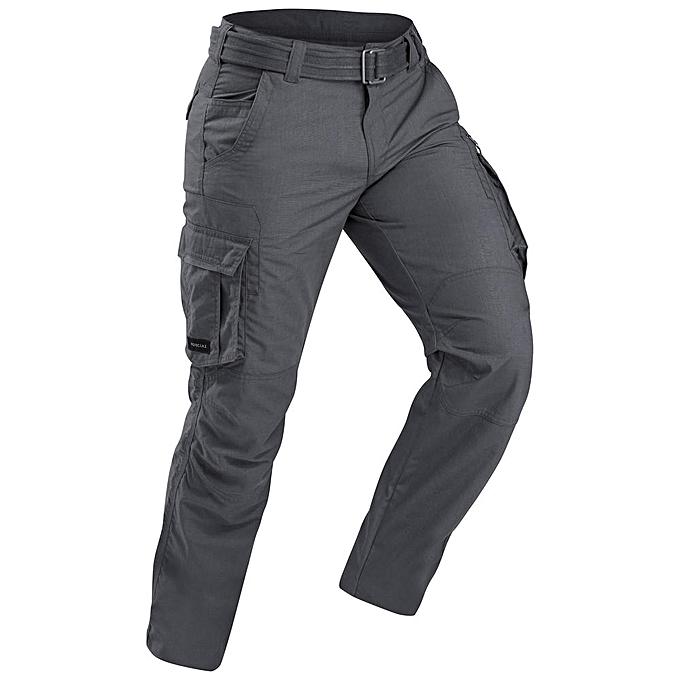 Decathlon Pantalon Multi-Poches Avec Ceinture - Gris - Prix pas cher ... 240143e0a9d