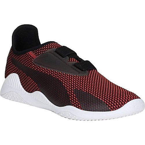 Rouge Mostro Perforé Noir Baskets En Evolution Homme rxCeBQEdoW