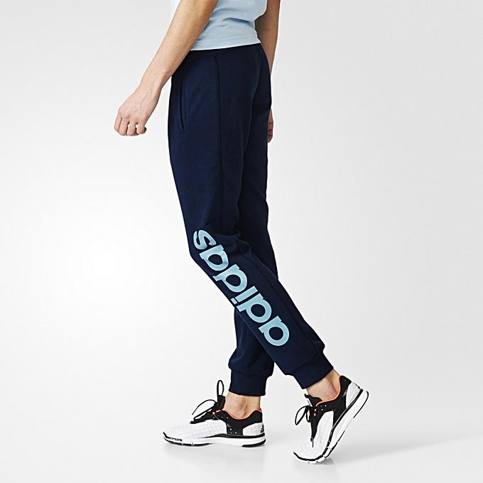 Jogging Bleu Linear Pantalon Adidas Prix Pas Essentiels Femme Fq5vWxw6