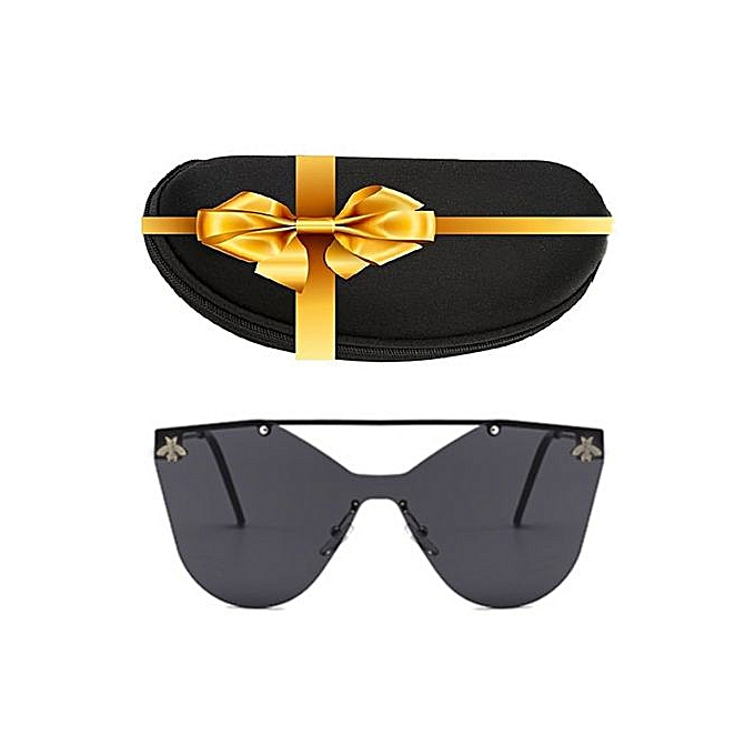 Sans Marque Lunette de Soleil Femme - Bee - Noir - Prix pas cher ... 7004ac265dda