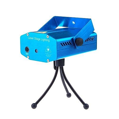 Sans marque projecteur laser etoiles et lumi res avec capteur voix bleu prix pas cher for Laser projecteur etoiles
