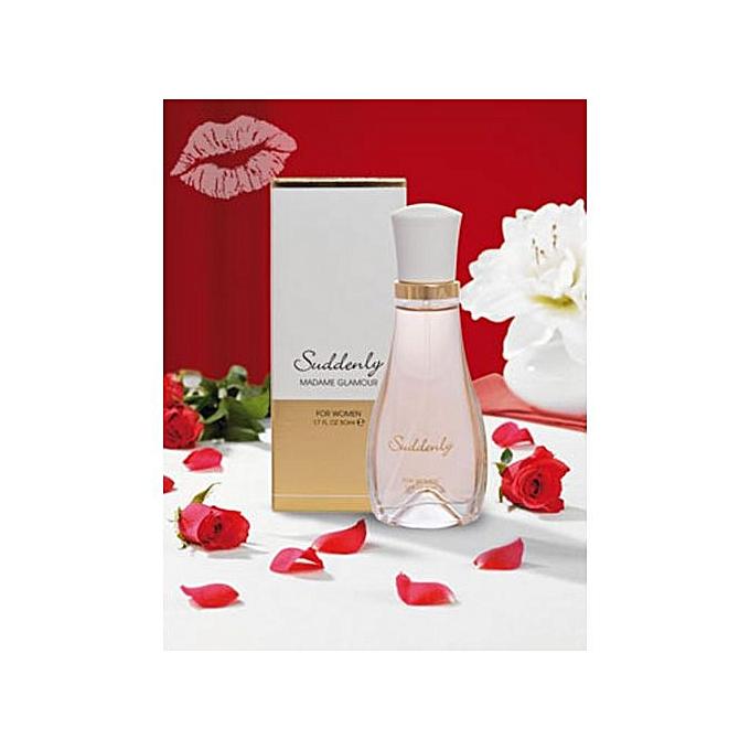 Suddenly Eau De Parfum Femme - Madame Glamour - 50 Ml - Prix pas ... c9bd6c63ecaf