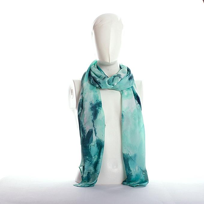 370222146678 Sans Marque Foulard Femme - Bleu - Prix pas cher   Jumia DZ