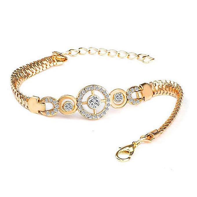 cfc9c887905 Sans Marque Bracelet Femme - Gold - Prix pas cher