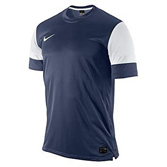 Barato 413138411 Azul Nike Blanco Precio Camiseta Dri Hombre Fit RLj3Aq54c
